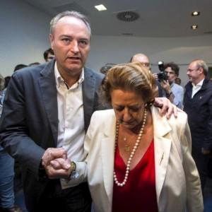 Rita Barberá y Alberto Fabra
